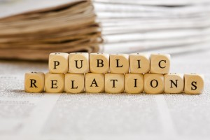 The word public relations